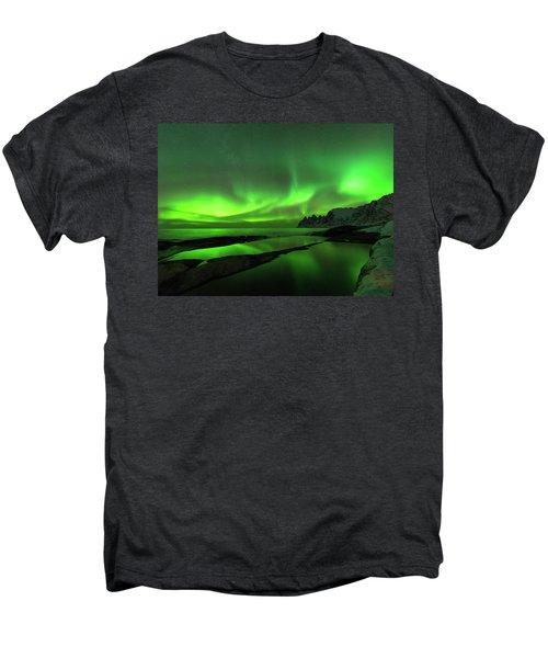 Skydance Men's Premium T-Shirt by Alex Lapidus