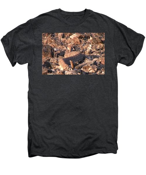 Slithering Away With Tail Held High Men's Premium T-Shirt