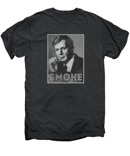 Smoke Funny Obama Hope Parody Smoking Man Men's Premium T-Shirt by Philipp Rietz
