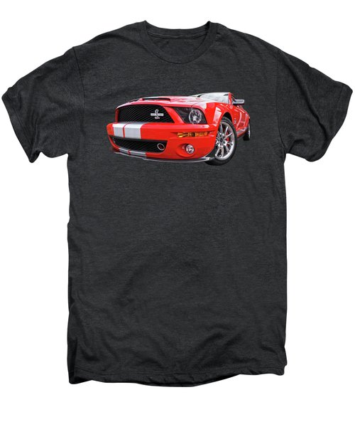 Smokin' Cobra Power - Shelby Kr Men's Premium T-Shirt by Gill Billington