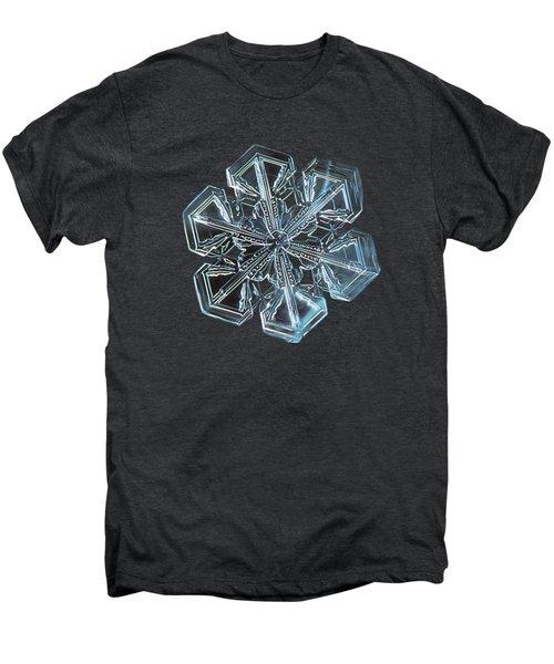 Snowflake Photo - Alcor Men's Premium T-Shirt