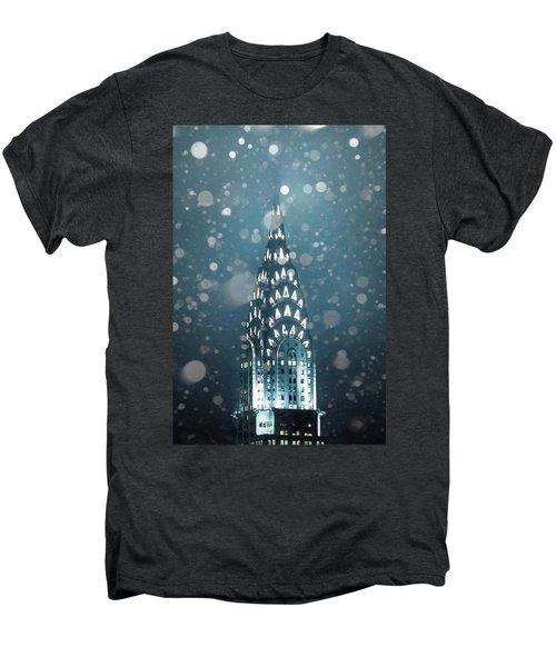 Snowy Spires Men's Premium T-Shirt