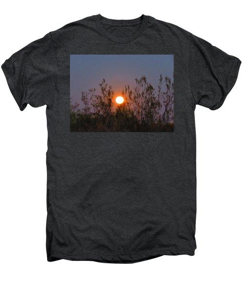 Sonoran Desert Harvest Moon Men's Premium T-Shirt