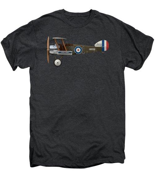 Sopwith Camel - B3889 - Side Profile View Men's Premium T-Shirt