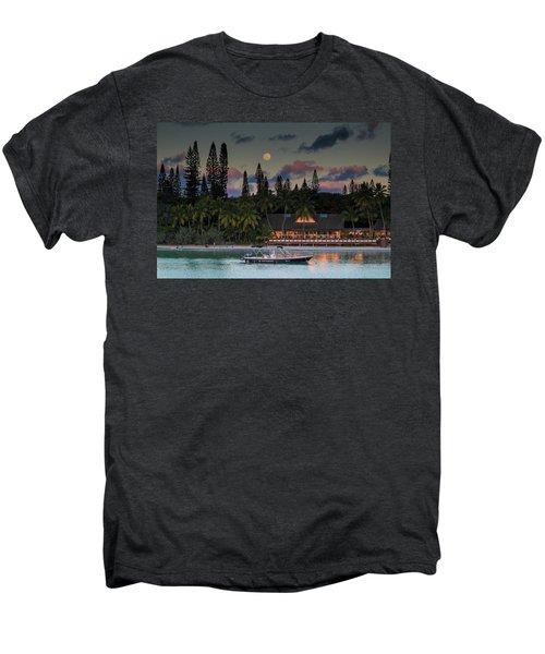 South Pacific Moonrise Men's Premium T-Shirt