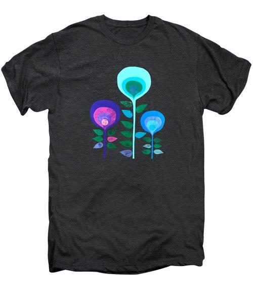 Space Flowers Men's Premium T-Shirt