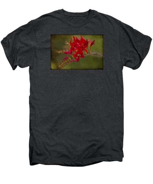 Splash Of Red. Men's Premium T-Shirt