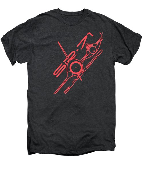 Sr-71 Blackbird Men's Premium T-Shirt by Ewan Tallentire