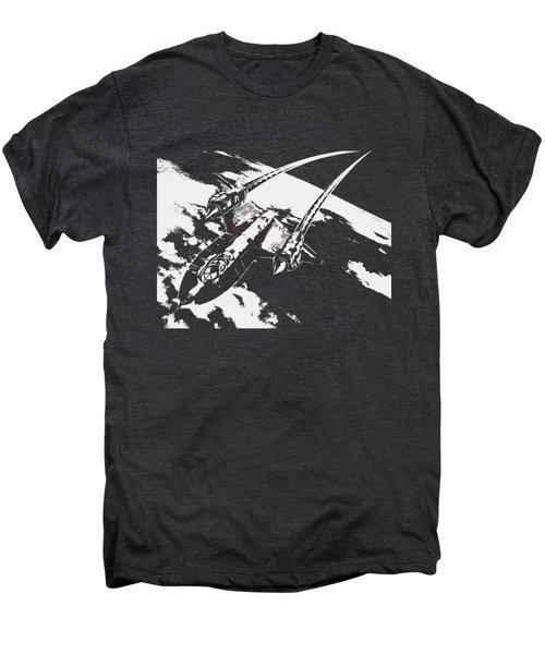 Sr-71 Flying High Men's Premium T-Shirt