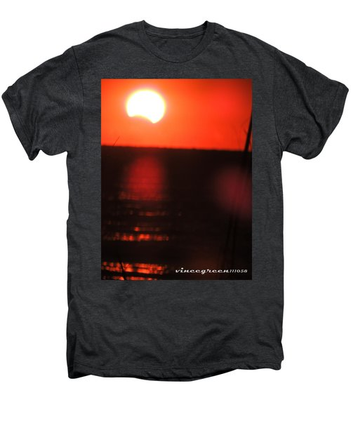 Staring Into A Star Eclipsed Men's Premium T-Shirt