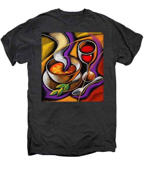 Steaming Supper Men's Premium T-Shirt by Leon Zernitsky