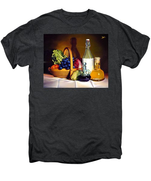Still Life In Oil Men's Premium T-Shirt