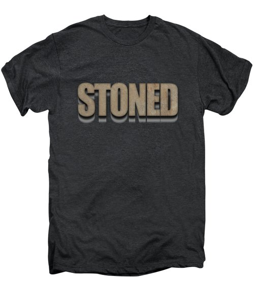 Stoned Tee Men's Premium T-Shirt by Edward Fielding