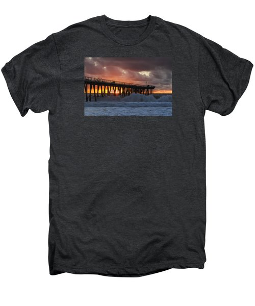 Stormy Sunset Men's Premium T-Shirt