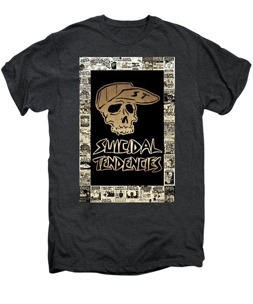 Suicidal Tendencies 2 Men's Premium T-Shirt by Michael Bergman