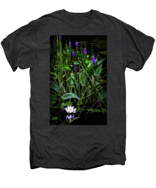 Men's Premium T-Shirt featuring the photograph Summer Swamp 2017 by Bill Wakeley