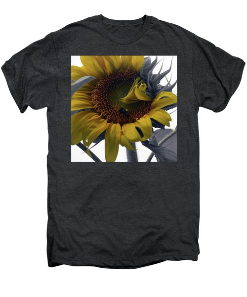 Sunflower Bee Men's Premium T-Shirt