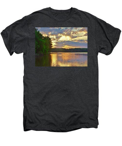 Sunrise At The Landing Men's Premium T-Shirt
