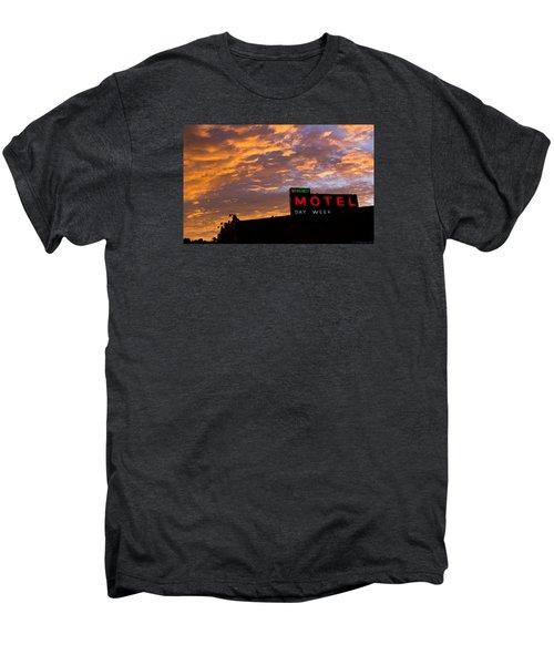 Sunrise Enters Capitola Men's Premium T-Shirt