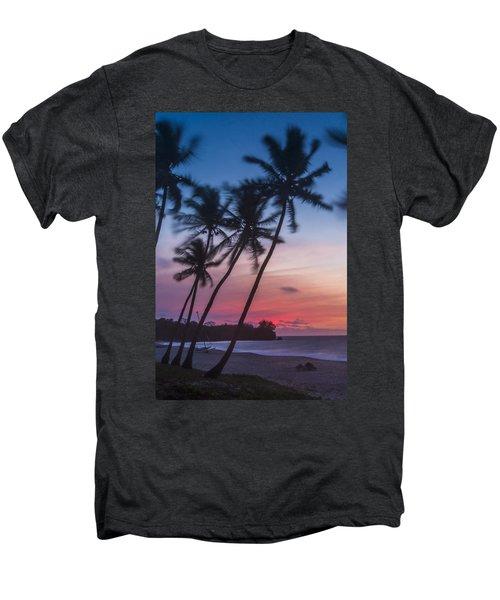 Sunset In Paradise Men's Premium T-Shirt by Alex Lapidus