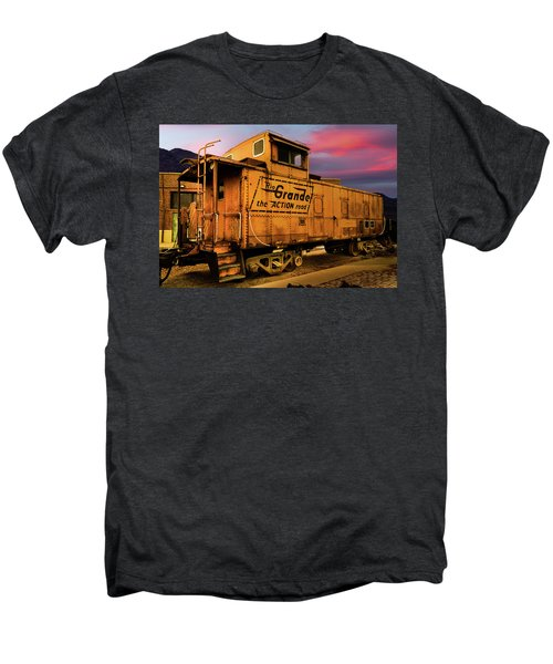 Sunset On The Rio Grande Men's Premium T-Shirt