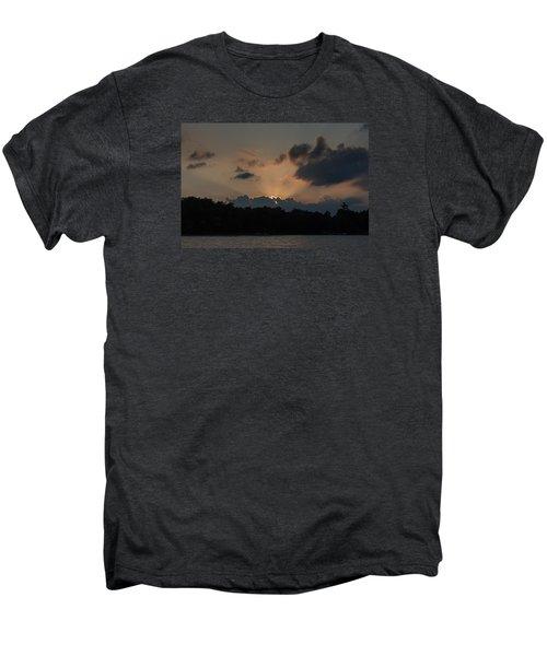 Sunset Over Wilderness Point Men's Premium T-Shirt by Gary Eason