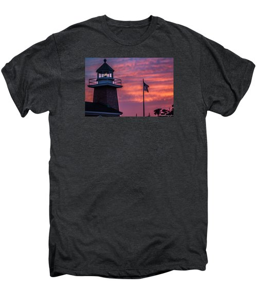 Surfing Museum Full Color  Men's Premium T-Shirt by Lora Lee Chapman