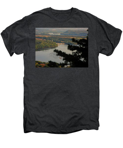 Susquehanna River Below Men's Premium T-Shirt
