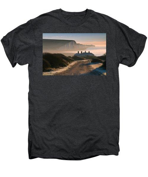 Sussex Coast Guard Cottages Men's Premium T-Shirt