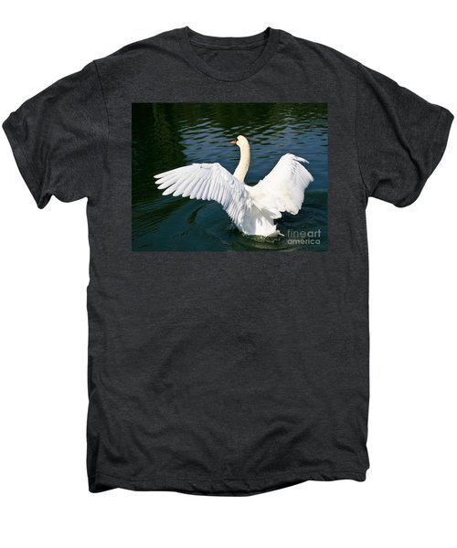 Swan Moment Men's Premium T-Shirt