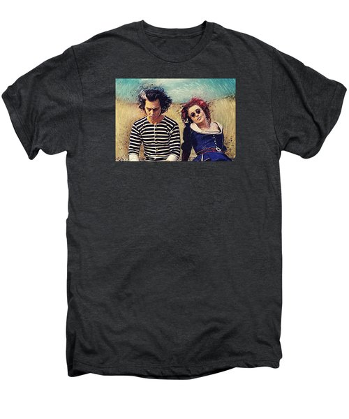 Sweeney Todd And Mrs. Lovett Men's Premium T-Shirt by Taylan Apukovska