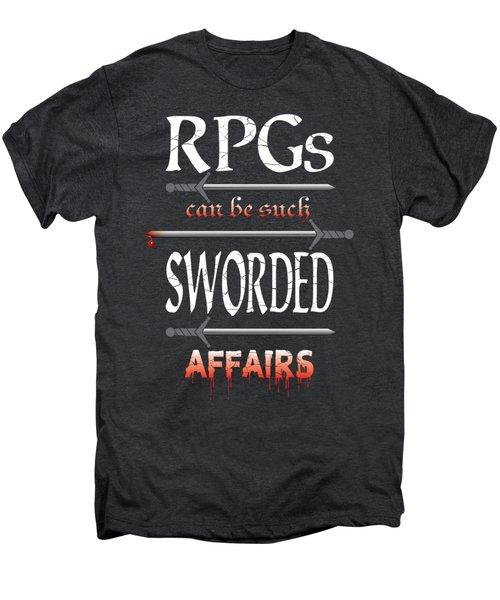 Sworded Affairs Men's Premium T-Shirt by Jon Munson II