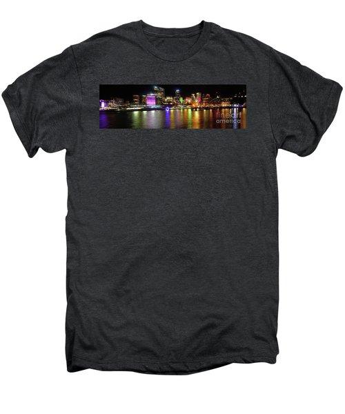 Sydney Skyline By Kaye Menner Men's Premium T-Shirt by Kaye Menner