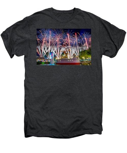 Symphony In The Stars As Seen Around Echo Lake Men's Premium T-Shirt