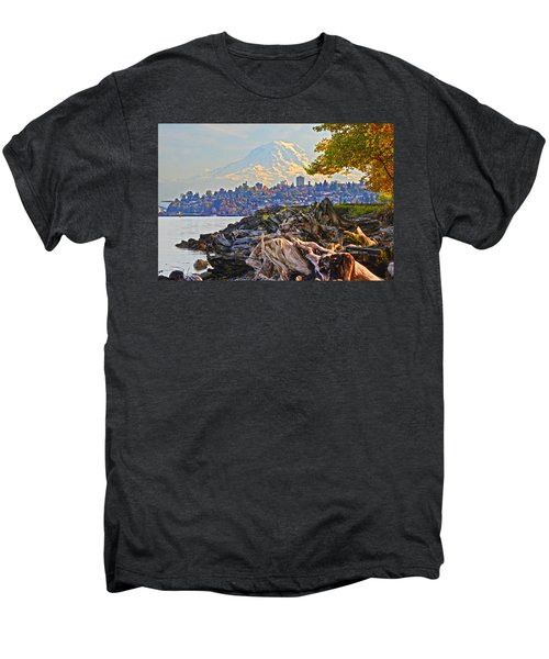 Tacoma In The Fall Men's Premium T-Shirt