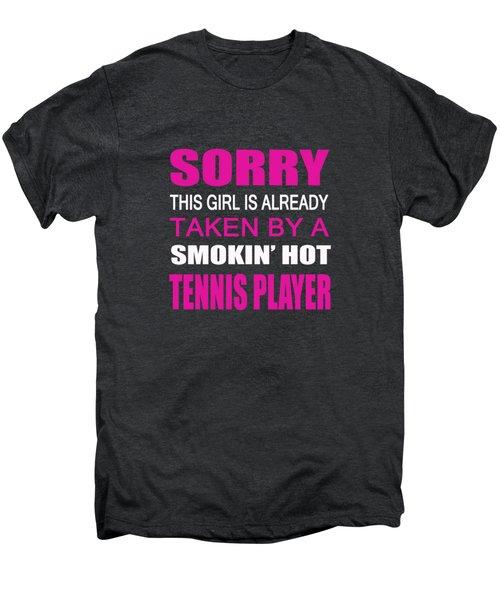 Taken By A Tennis Player Men's Premium T-Shirt