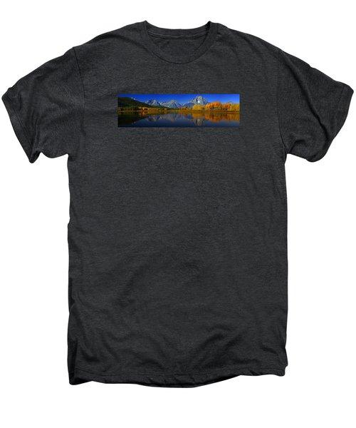 Tetons From Oxbow Bend Men's Premium T-Shirt