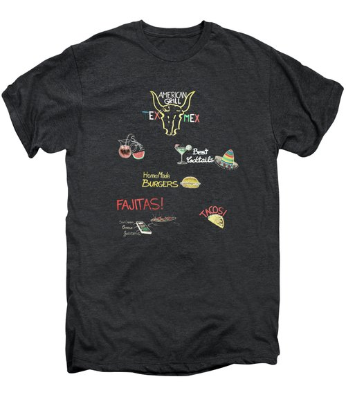 The American Grill Men's Premium T-Shirt by Mark Rogan