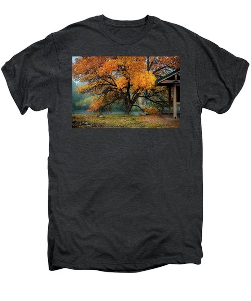 The Autumn Tree Men's Premium T-Shirt