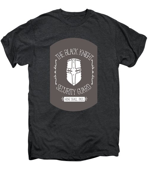 The Black Knight Men's Premium T-Shirt by Christopher Meade