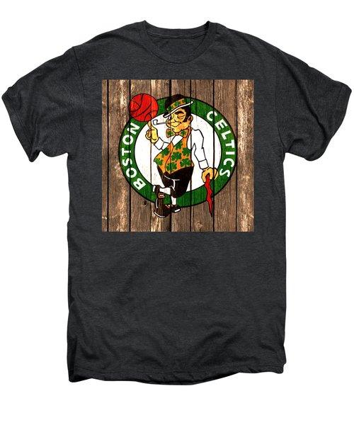 The Boston Celtics 2a Men's Premium T-Shirt by Brian Reaves