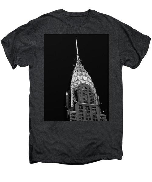 The Chrysler Building Men's Premium T-Shirt by Vivienne Gucwa