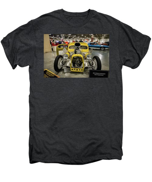 Men's Premium T-Shirt featuring the photograph The Devils Beast by Randy Scherkenbach