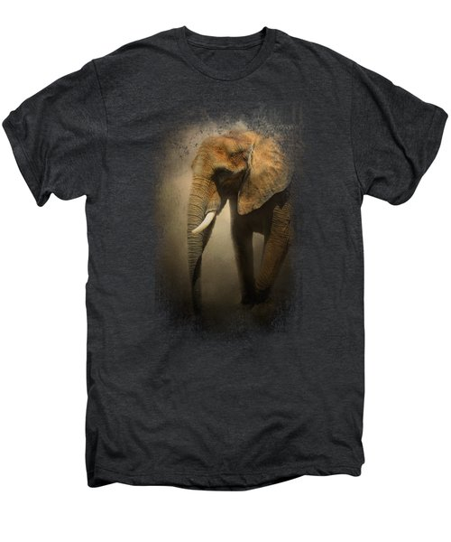 The Elephant Emerges Men's Premium T-Shirt by Jai Johnson