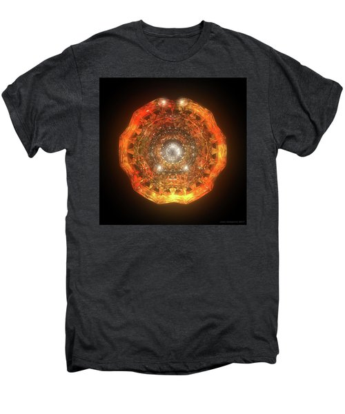 The Eye Of Cyma - Fire And Ice - Frame 160 Men's Premium T-Shirt