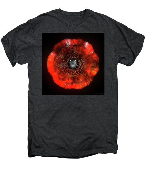 The Eye Of Cyma - Fire And Ice - Frame 40 Men's Premium T-Shirt
