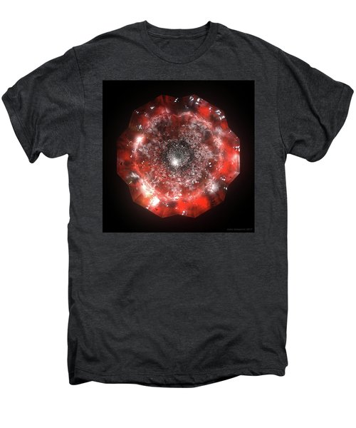 The Eye Of Cyma - Fire And Ice - Frame 50 Men's Premium T-Shirt