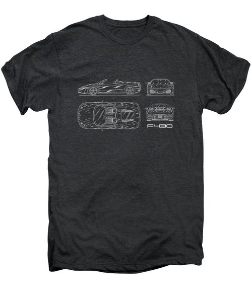 The F430 Blueprint Men's Premium T-Shirt