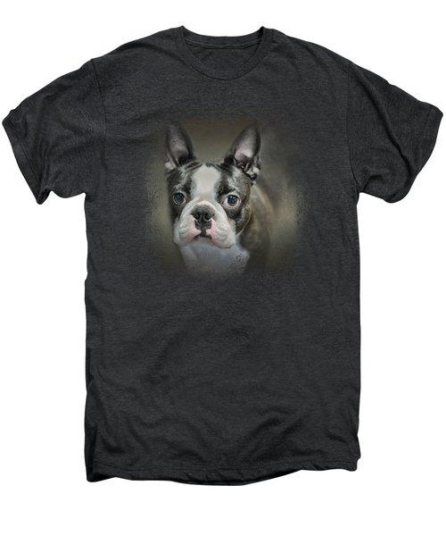 The Face Of The Boston Men's Premium T-Shirt by Jai Johnson