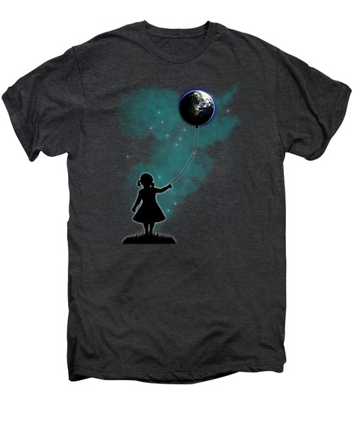 The Girl That Holds The World Men's Premium T-Shirt
